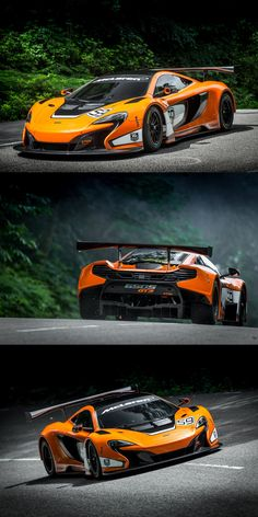 McLaren 650S GT3 - latest evolution of its mp4 gt3 spec edition.