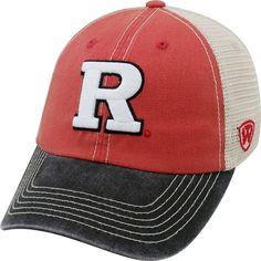 df4352dd8ef8 Top of the World Men s Rutgers Scarlet Knights Scarlet White Black Off Road  Adjustable Hat