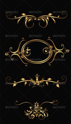 Vector Gold Frames This pack included .AI file Eps file 1 help file Created: GraphicsFilesIncluded: VectorEPS Layered: Yes MinimumAdobeCSVersion: Tags: abstract Logo Spa, Royal Logo, Wedding Drawing, Tiny Heart Tattoos, Decorative Lines, Golden Design, Luxury Logo, Fashion Wallpaper, Beauty Logo