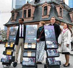 Germany - Metropolitan Public Witnessing via Webstame @jw_witnesses #literature_cart
