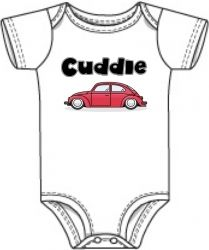 Cuddle Bug VW Baby Onesie...need this. i always call him that.
