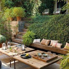 Que delícia de jardim!
