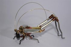 ɛïɜ Steampunk Insects ~ Artist Tom Hardwidge  ɛïɜ