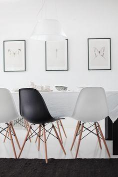 Nämä tuolit keittiöön, kiitos :)