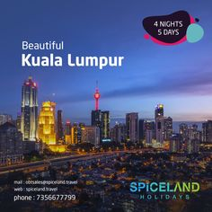 Enjoy The Interesting Attractions Of Shoppers Paradise.  Travel Package To Kuala Lumpur, 4 Nights 5 Days  Call us at 7356677799 for more details Visit us on www.spiceland.travel  #spicelandholidays #kualalumpurtourism #kualalumpur #tour #travels #tourism