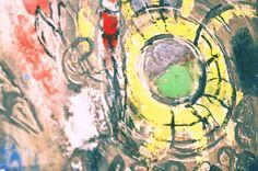 Marc Chagall. La creazione dell'uomo, ceramica murale, 1959 (dettaglio)