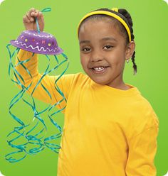 Have your creative kids make cute jellyfish from Lakeshore's Free Resources.