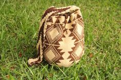Brown+and+Beige+Handmade+Wayuu+Bag.+Perfect+for+Summer+by+Guayuu,+$79.00