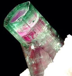 Tourmaline   #Geology #GeologyPage #Mineral    Geology Page  www.geologypage.com