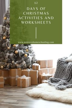 These free 12 Christmas Activities and Christmas Worksheets are perfect to help your kids not only learn but to dig deep into the meaning of Christmas! Enjoy