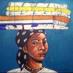 Haitian Woman Jamaican Art, Haitian Art, Cartoon Gifs, 10 Picture, Black And Brown, Art Gallery, African, History, Painters