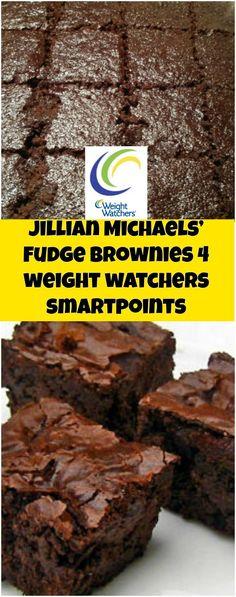 Jillian Michaels' Fudge Brownies 4 weight watchers smartpoints | weight watchers recipes