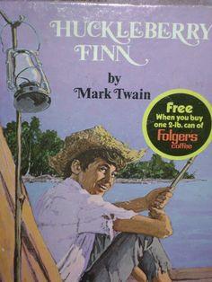 Huckleberry Finn by Mark Twain  Grocery by SevenSistersBooks, $6.99