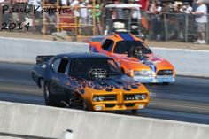 Nostalgia Drag Racing - Funny Car photographed by Paul Katata 2014