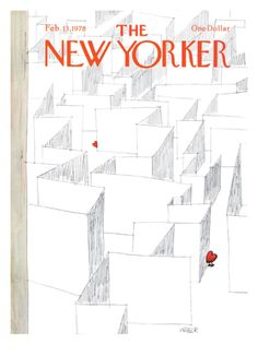 The New Yorker Cover - February 13, 1978 Giclee Print by Robert Weber at Art.com