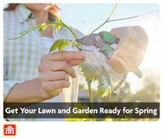 Here's How to get your lawn and garden ready for spring. Gardening Tools, Lawn And Garden, You Got This, How To Get, Spring, Gardening, Its Ok, Horticulture