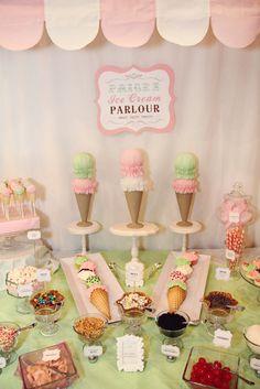 Ice Cream Party - Desserts