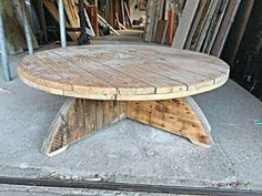 82 Best Cable Spool Tables Amp Ideas Images In 2019 Wood