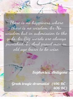 I am writing an essay relating Antigone to a quote. Help?