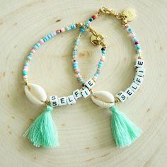 - Cowrie Shell Selfie Bracelet