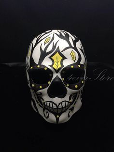 Mens Day of the Dead Mask Dia de los Muertos Mask by 4everstore