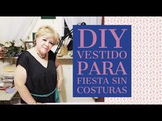DIY - VESTIDO PARA FIESTA SIN COSTURAS // DIY - COSTUME PARTY DRESS WITH...