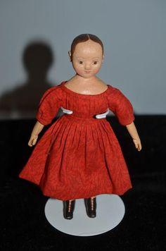 Wonderful Doll Artist Doll Cabinet Oil Cloth Doll TRUE FRIENDS Patty Reilly & Lolly Yocum