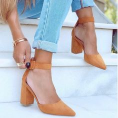 Γόβα Emma suede ταμπά Pumps, Heels, Fashion, Heel, Moda, La Mode, Pump Shoes, Pumps Heels, Fasion