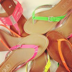Neon Sandals ☻                                                                                                                                                                  ⇜•ṄεΦЙ❉€яᗛƶΣ•⇝