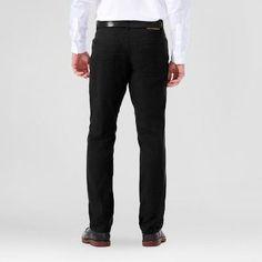 Haggar H26 Men's Slim 5 Pocket Stretch Pants- Black 32x32