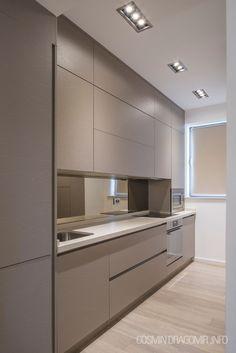 9 inspirational simple kitchen design ideas you must try 6 Modern Kitchen Interiors, Luxury Kitchen Design, Kitchen Room Design, Modern Kitchen Cabinets, Home Room Design, Kitchen Cabinet Design, Kitchen Sets, Home Decor Kitchen, Interior Design Kitchen