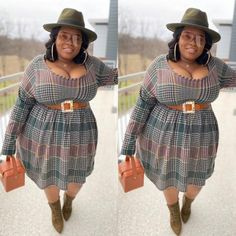 Curvy Outfits, Chic Outfits, Spring Outfits, Girl Outfits, Plus Size Fall Outfit, Plus Size Outfits, Curvy Girl Fashion, Sweet Fashion, Plus Size Fashion For Women