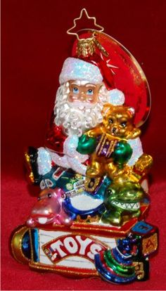 Toys for All Radko Baby Ornament