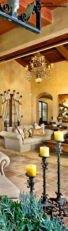 Love The Colours Of Walls Mediterranean Living RoomsMediterranean DecorTuscan