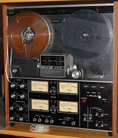 A 4-channel reel-to-reel tape unit from the 1970s, one of the few ways to achieve true 4-channel sound at home