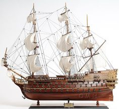 Serious craftsmanship goes into creating some of these really detailed models of old wooden ships, be they Argosy, Barque, Galleon, Nave, Tall Ship...