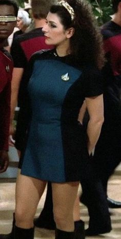 Councillor Troi in Star Trek: The Next Generation.