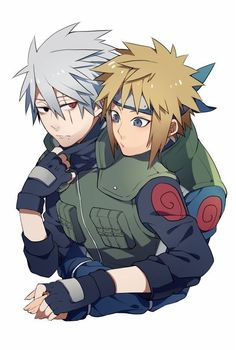 Kakashi and Minato ♡♡♡