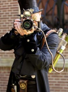 Ghostbuster camera?