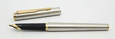 Parker 95 Flighter M with gold trim (mine's silver) and it would be absolutly perfect if it were an F