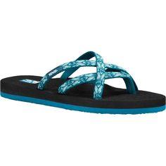 Teva - Olowahu Flip Flop - Women's - Hazel Blue