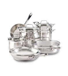 T-fal E884SC Restaurant Stainless Steel Cookware Set, 12-Piece, Silver >>> Read more reviews of the product by visiting the link on the image.