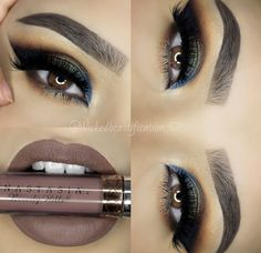 Using the Anastasia Beverly Hills World Traveler Palette, you could recreate this eyeshadow look.