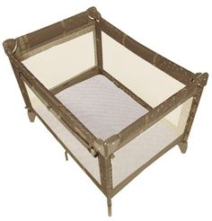 Kushies Certified Organic Play Pen Fitted Sheet, Mocha. 100% premium quality certified organic cotton. All sheets packaged in a reusable matching bag. All fitted sheets are fully elasticized for a perfect fit. Finished edges for quality and durability. Sized to allow for shrinkage, fits perfectly after each wash.