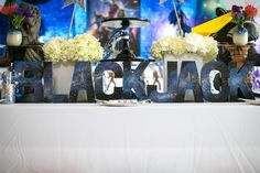 """Lettering from a """"Guardians of the Galaxy"""" Birthday Party on Kara's Party Ideas   KarasPartyIdeas.com (35)"""