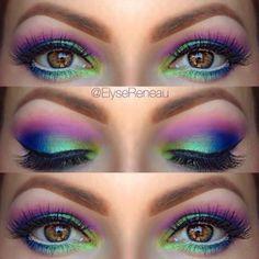 Festival Eye Makeup Ideas | Divine Caroline