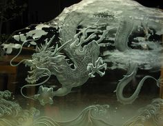 Art of the Sand Carved Glass