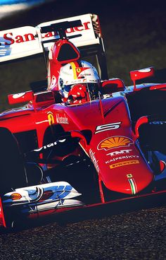 the beauty of Formula 1 in pictures — Sebastian Vettel in SF15-T - requested...