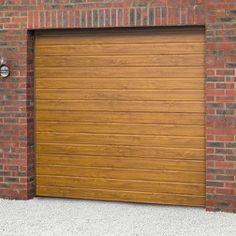 Novoferm ISO45 Ribbed Smoothfoil Sectional Garage Door