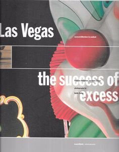 Las Vegas (Architecture in Context) The Success of Excess 1997 Paperback Ed